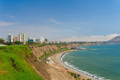 Costa Verde Royaltyfri Bild