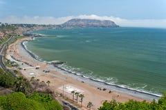 Costa Verde Arkivbild