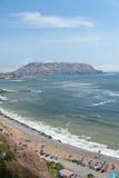 Costa Verde Arkivbilder
