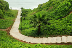 Costa Verde (Green Coast) in Miraflores Stock Photos