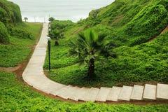Costa Verde (Green Coast) in Miraflores Stock Photos