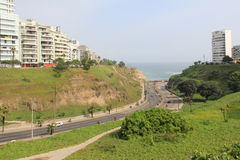 Costa Verde, Lima Images stock