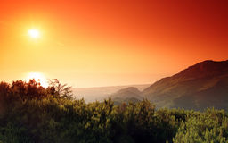 Costa verde mountain in corsica Stock Images