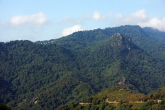 Costa verde mountains in Corsica Stock Images