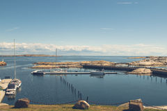 Costa a Verdens Ende, Norvegia Immagine Stock