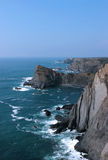 Costa Vicentina. West coast of Portugal and its cliffs (Costa Vicentina Royalty Free Stock Photos