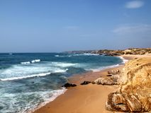 Costa Vicentina beach in Alentejo Royalty Free Stock Photos