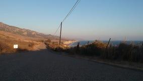 Costa 2 video aéreos de Gaviota California metrajes