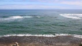 Costa volcánica de Kauai almacen de video