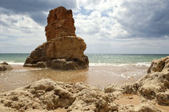 Costa y playa Imágenes de archivo libres de regalías