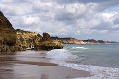 Costa y playa Fotografía de archivo