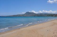 Costa y playa de crete imágenes de archivo libres de regalías