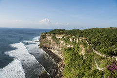 Costal Clifftop Trek Bali Royalty Free Stock Photos
