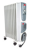 Costal electric heater on oil. Royalty Free Stock Images