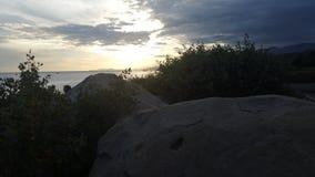Costal Sunset Stock Photo