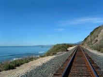 Costal Train Tracks Stock Photo