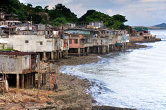 Costal village Stock Photography