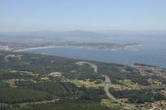 Costaline of Galicia from La Curota Stock Image