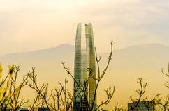 Costanera mitt - Santiago - Chile Fotografering för Bildbyråer