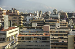 Costanera-Mitte - Santiago - Chile Lizenzfreies Stockbild
