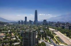 Costanera-Mitte - Santiago - Chile Lizenzfreie Stockfotografie