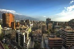 Costanera-Mitte - Santiago - Chile Stockfoto