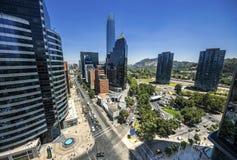 Costanera-Mitte - Santiago - Chile Stockfotos
