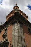 Costanilla de SAN Andres, η αρχιτεκτονική των παλαιών κτηρίων, Μαδρίτη, Ισπανία Στοκ Εικόνες