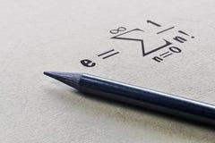 Costante matematica famosa fotografia stock libera da diritti