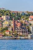 Costantinopoli costiera Fotografia Stock