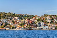 Costantinopoli costiera Fotografie Stock
