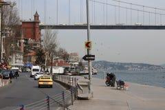Costantinopoli - dal Bosphorus Fotografia Stock