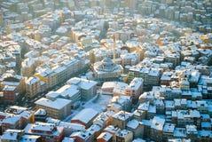 Costantinopoli dalla cima Immagini Stock