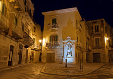 Costantinopoli Square. Giovinazzo. Apulia. Royalty Free Stock Photography