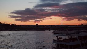 Costantinopoli/Turchia stock footage
