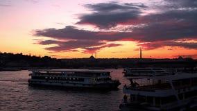 Costantinopoli/Turchia video d archivio