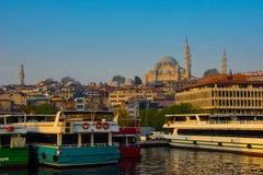 Costantinopoli Turchia Fotografia Stock Libera da Diritti