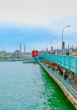 A Costantinopoli in Turchia Fotografie Stock Libere da Diritti