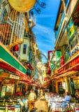 A Costantinopoli in Turchia Immagini Stock Libere da Diritti