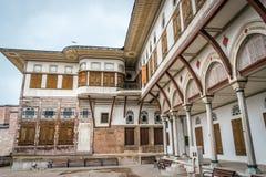 Costantinopoli, Turchia - 6 13 2018: Esterno dell'harem, palazzo di Topkapi fotografie stock libere da diritti