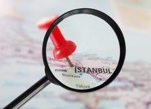 Costantinopoli Turchia ha ingrandetto Fotografie Stock Libere da Diritti