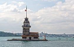 Costantinopoli, Turchia, il Bosphorus Fotografia Stock Libera da Diritti