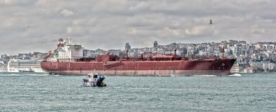 Costantinopoli, Turchia, il Bosphorus, Fotografie Stock