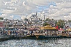 Costantinopoli, Turchia, il Bosphorus Mare del ‹Marmara del †del ‹del †Immagine Stock Libera da Diritti