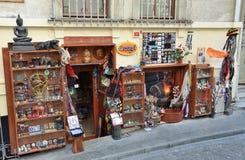 Costantinopoli, Turchia, 19 ottobre, 2013 Nessuno, negozio di regalo Immagine Stock Libera da Diritti