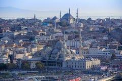 Costantinopoli - vecchia città, Turchia Fotografie Stock Libere da Diritti