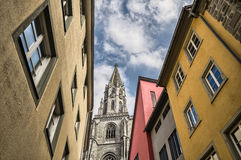 Costanza, Germania: Cattedrale Immagine Stock Libera da Diritti