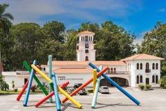 Costarican konstmusem i huvudstaden San Jose royaltyfri bild