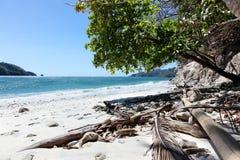 Costarikansk strand Arkivfoton