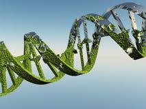 Costas danificadas do ADN ilustração stock